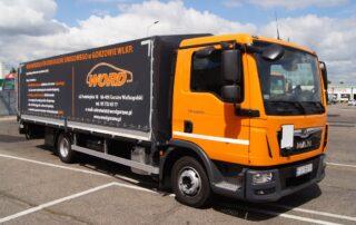 Zdjęcie pojazdu ciężarowego MAN TGL 12.250 z przyczepą