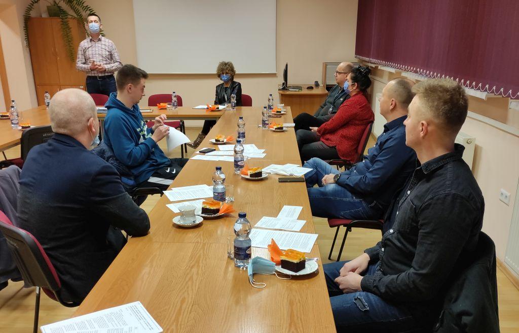 Uroczyste spotkanie kończące proces szkolenia kandydatów na instruktorów nauki jazy