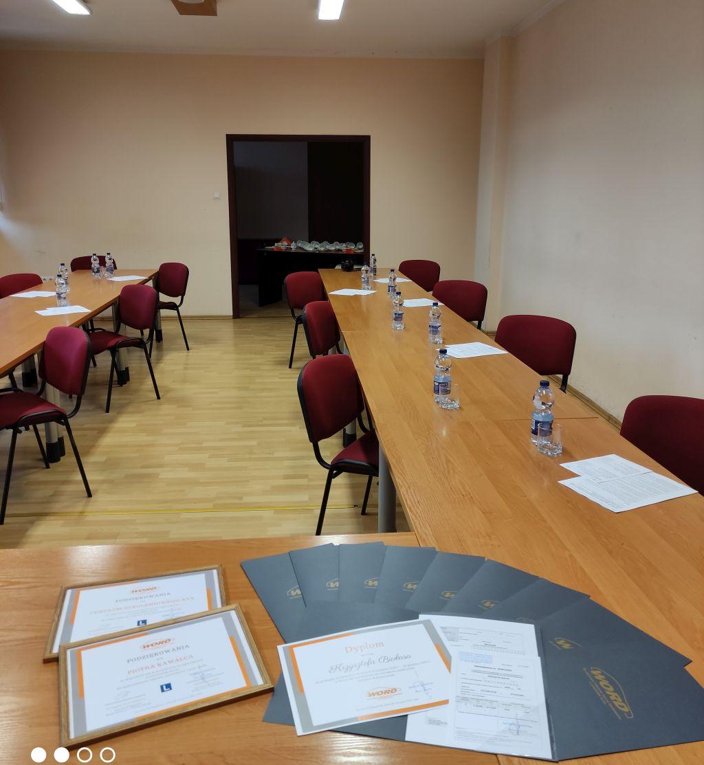 Zdjęcie sali szkoleniowo-konferencyjnej