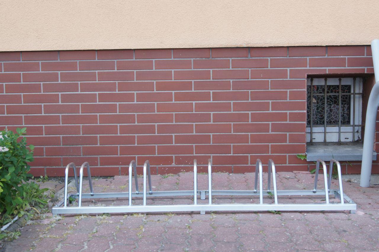 Zdjęcie stojaków na rowery